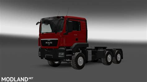 Road Truck by Tgs 6x6 Heavy Road V1 0 Mod For Ets 2