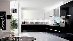 cuisine noire et blanche top cuisine With cuisine noire et blanche