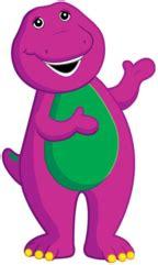 Backyard Creations Logo barney  video maker barney  purple dinosaur 144 x 241 · png