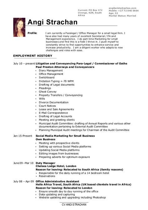 Ex Cv 2016 by 2016 Angi Baleta Curriculum Vitae