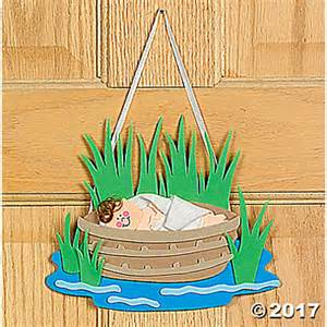 Baby Moses Sunday School Craft