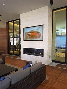 Creating, A, Contemporary, Fireplace, Design, With, Traditional, Stone