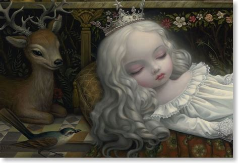 mark ryden awakening  moon limited edition print