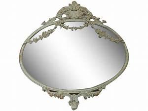 Spiegel Antik Oval : spiegel oval vintage shabby chic die feenscheune ~ Markanthonyermac.com Haus und Dekorationen