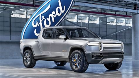 rivian   ford  electric pickup truck