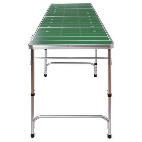 aluminum portable folding table ys 8ft aluminum portable folding beer ping pong table