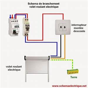 Branchement Volet Roulant électrique : sch ma electrique volet roulant norme d 39 installation d ~ Melissatoandfro.com Idées de Décoration
