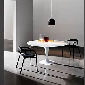 Table Verre Ronde : table ronde design en verre fl te sovet 4 pieds tables chaises et tabourets ~ Teatrodelosmanantiales.com Idées de Décoration