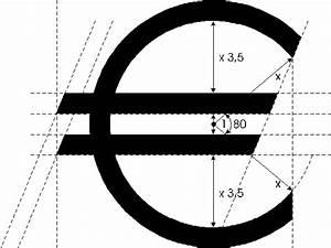 Estimated Symbol And Euro Currency Symbol Designs