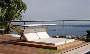 Lit De Jardin Double : chaises longues de jardin 15 id es un salon de jardin ~ Dailycaller-alerts.com Idées de Décoration