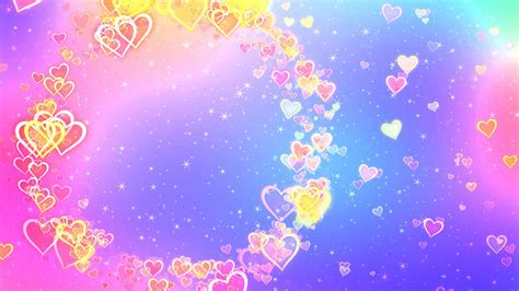 wallpaper love hearts abstract colorful  love