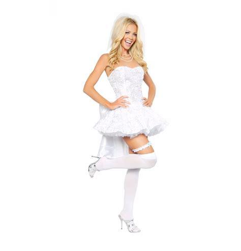 disfraz de novia sexy 1 616 00 en mercado libre