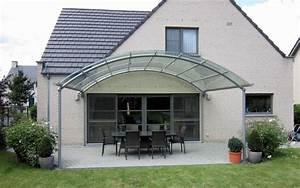 un auvent de terrasse design au meilleur prix bozarc With construire un auvent de terrasse