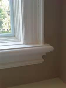 Traditional Interior Window Trim Details