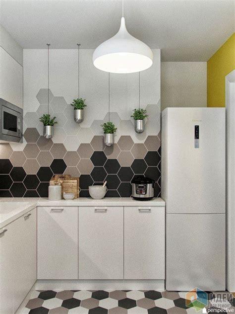 Дизайнпроект кухни, плитка соты  Home Sweet Home