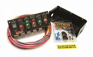 Painless Wiring 50302 Race Car 6 Switch Panel