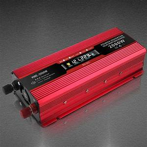 6000w Solar Power Inverter Dc 12v To Ac 220v Car Sine