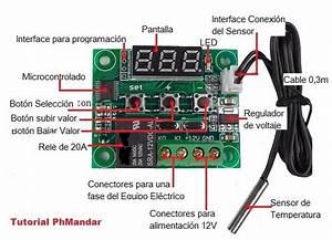 Control Regulaci U00f3n Temperatura Termostato Incubadora Cava