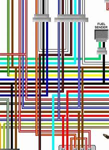 Yamaha Xj550 Rh 1980 Uk Spec Colour Wiring Harness Diagram