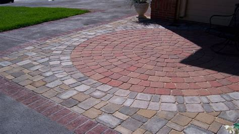 patio floor designs flagstone paver patio designs
