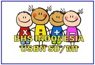 Kumpulan soal dan jawaban ujian nasional sd mata pelajaran bahasa indonesia terbaru. LATIHAN SOAL UN/ USBN BAHASA INDONESIA SD/MI (DOWNLOAD ...