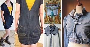 Que Faire Avec Des Vieux Jeans : 28 fa ons cr atives de r cup rer des vieux jeans pour leur donner une seconde vie mode ~ Melissatoandfro.com Idées de Décoration