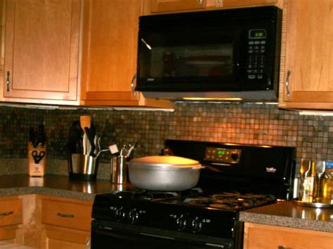 how to install backsplash in kitchen installing kitchen tile backsplash hgtv