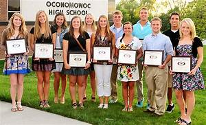 2011-2012 Oconomowoc High School Scholar-Athletes Honored ...