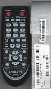 New Samsung Home Theater Sound Bar Remote Control Ah59