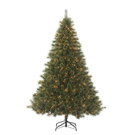 christmas trees donner blitzen incorporated 7 5 westchester deluxe cashmere pine pre lit christmas tree with