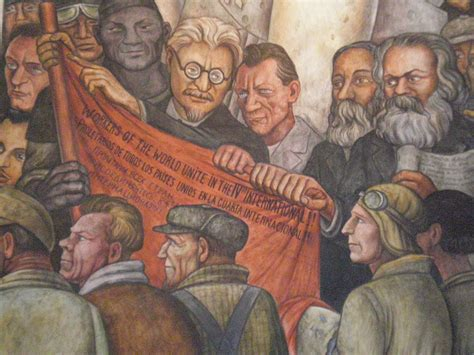 Stalinist Mural Diego Rivera Rockefeller Center by Mexico City Teotihuacan Alterra Cc
