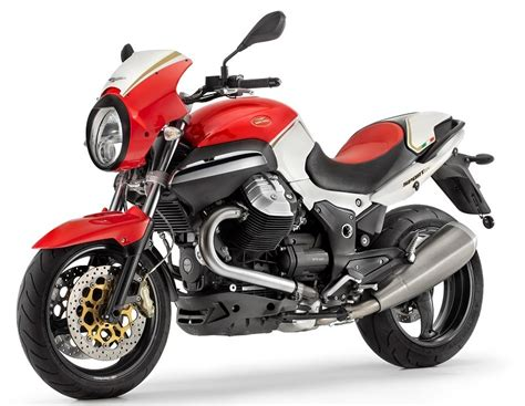 moto guzzi launch special corsa edition of 1200 sport mcn