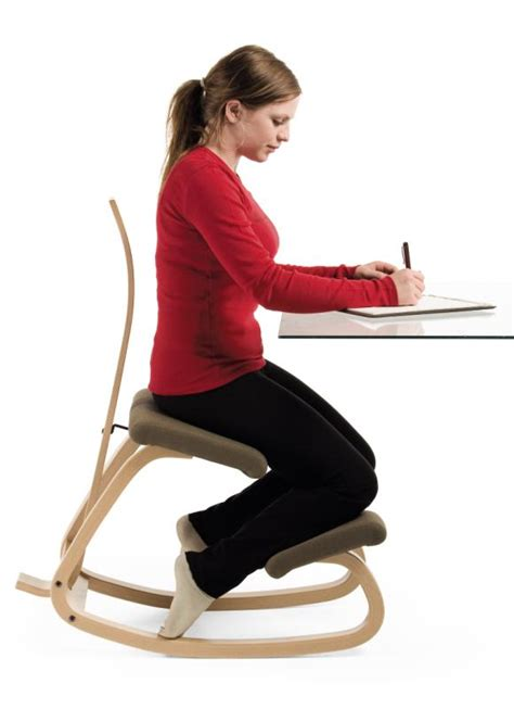 Used Ergonomic Kneeling Office Chair by Review Varier Balans Kneeling Chair Review