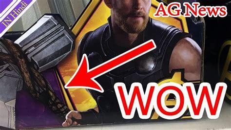 avengers infinity war thor new hammer 3d breakdown