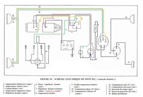 schema electrique tracteur agricole