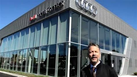 a tour around the all new audi west chester youtube