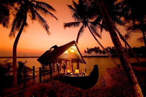 romantic kerala beaches   sunset view india