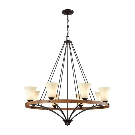 rubbed bronze chandelier lighting lighting park city 8 light rubbed bronze and