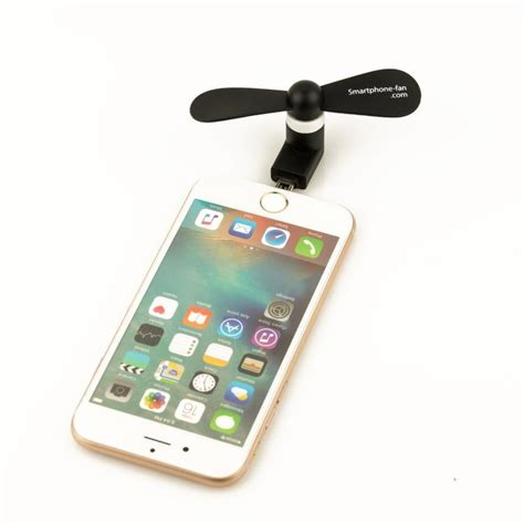 smart phone fan for blowing your hair while taking selfies