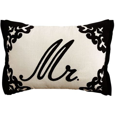 pier one black throw pillows pier 1 imports black script monogram pillow 9 98 liked