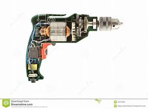 The drill parts stock photo. Image of inside, machine ...