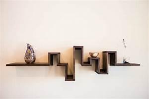 Wandregal Holz Design : wandregal designs welche die ausstattung leicht erscheinen lassen ~ Sanjose-hotels-ca.com Haus und Dekorationen