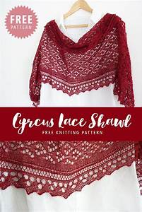 Madeline U0026 39 S Wardrobe  Free Knitting Pattern  Cyrcus Lace Shawl
