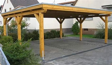 Der Klassiker Der Flachdach Carport by Dachaufbau Carport Flachdach Der Flachdach Carport