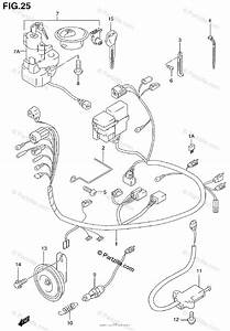 Suzuki Motorcycle 1999 Oem Parts Diagram For Wiring Harness