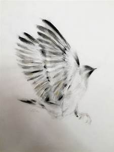 ARTFINDER: Outstretched Wings by Kellas Campbell - Ink and ...