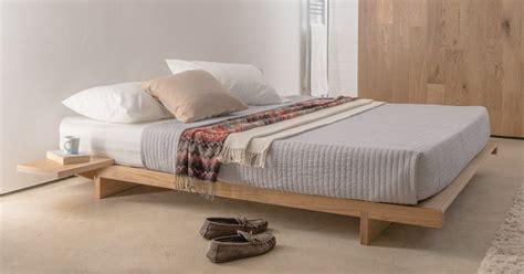 Low Bedroom Frames by Low Fuji Attic Platform Bed No Headboard Get Laid Beds