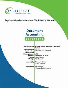 5946 Equitrac Reader Maintainer Tool User Guide V3 0 By