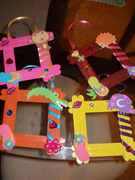como hacer un portaretratos infantil como regalo para el las 25 mejores ideas sobre