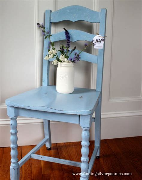 shabby chic blue paint blue shabby chic chair annie sloan chalk by findingsilverpennies 45 00 silver pennies my